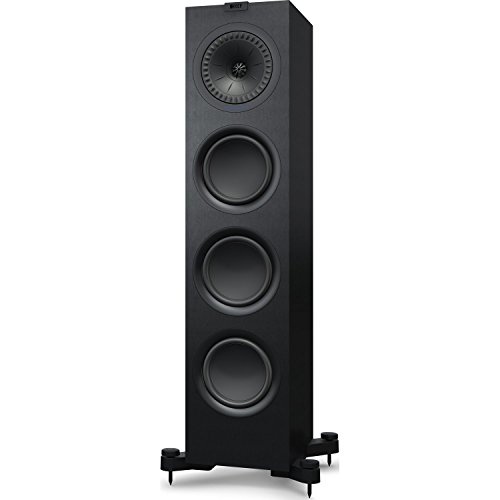 [해외]KEF q750 Floorstanding Speaker (각, 새틴 블랙) Q750B / KEF q750 floorstanding Speaker (Satin Black) Q750B