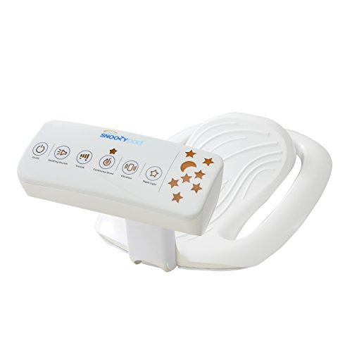 Halo Snoozypod Vibrating Bedtime Soother, White ()