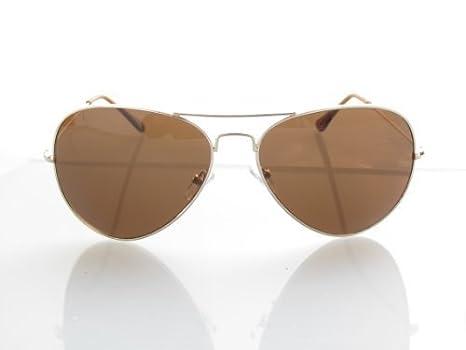 ALPLAND Pilotenbrille - Sonnenbrille - GOLD inkl.SOFTBAG nPa8S9