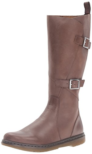 Black Knee Buckle in Caite Boots Martens Dr Brown Wrap wAfq6nBw0