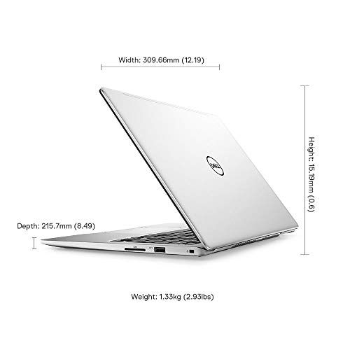 Dell Inspiron 7380 13.3-inch FHD Thin & Light Laptop (Core i5 8th Gen/8GB/512GB SSD/Windows 10 + MS Office/Integrated Graphics/Silver)