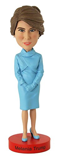 Edition Bobble Head Doll - Royal Bobbles Melania Trump Limited Edition Inaugural Version Bobblehead NUMBERED