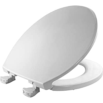 Bemis 1800EC Toilet Seat with Easy Clean & Change Hinge