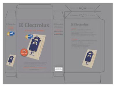 Electrolux Homecare Products 4 Packs 5PK Electro S Class Bag