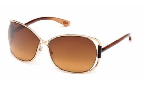 TOM FORD SUNGLASSES TF156 TF 156 28F BROWN - Rose & Sunglasses Summer