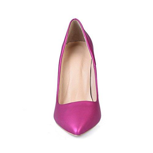 Simples Taille Couleur Chaussures HJHY LGLFRXZ Bleu Talons Haut 35 Rose Sexy pour Confortable Femmes Chaussures Mode Pointé x0nqn7wp6