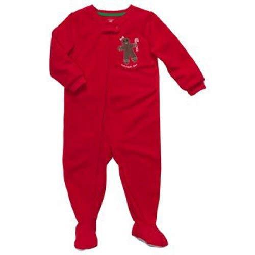 Oshkosh Toddler Girls Microfleece Blanket Sleeper Gingerbread (4T)