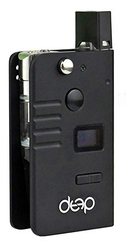 Cartridges and Pods Compatible DeeP Kit Box (Cartridges and pods not Included) (Black) ()