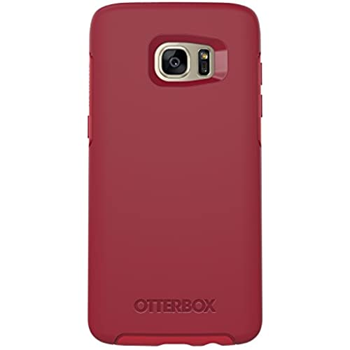 OtterBox SYMMETRY SERIES Case for Samsung Galaxy S7 Edge - Retail Packaging - ROSSO CORSA (FLAME RED/RACE RED) Sales