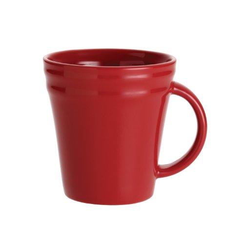 Rachael Ray Gift Box - Rachael Ray Dinnerware Double Ridge Mug Set, 4-Piece, Red