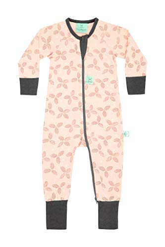 ergoPouch 0.2 Tog Footed Sleeper Romper (1 Year, Petals)...