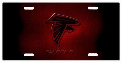 Atlanta Falcons- The Run v09 Vanity License Plate