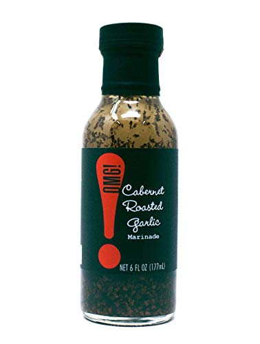 OMG! Oils: Marinade so good youll shout O-M-G! | From Pike Place Market. Perfect for marinating and grilling your favorite veggies, meats and fish. (Cabernet Roasted Garlic, Rosemary, 6 FL OZ)