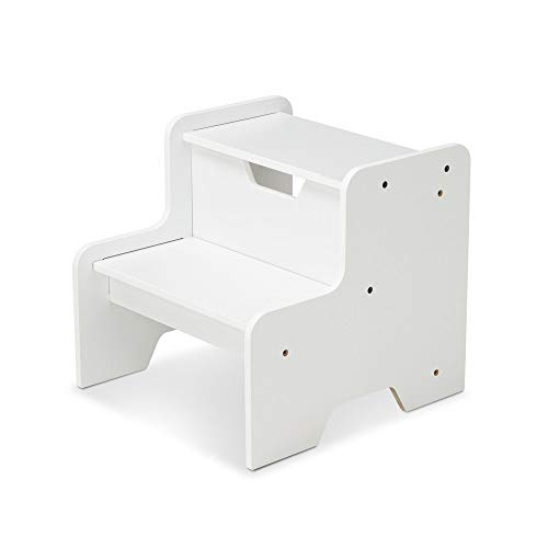 Piece Tile Finish 5 Natural (Melissa & Doug Step Stool - White)