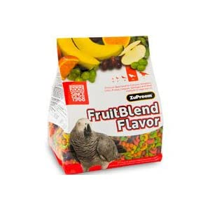 ZuPreem AvianMaintenance FruitBlend Flavor Premium Diet for Parrots & Conures (17.5-lb bag) – Best fruitblend for Cockatiels