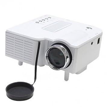 Bheema Proyector LED UC30 alta calidad Portable Multimedia 480 ...