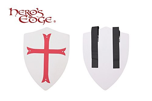 Crusader Cross Foam Shield for Cosplay and Larp ()