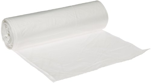 Berry Plastics HR404816N Rhino-X High Density Polyethylene Coreless Roll Can Liner, 40-45 gallon Capacity, 16 micron Thick, 48