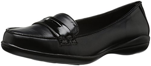 Soft Style Mujeres Daly Loafer Black Vitello