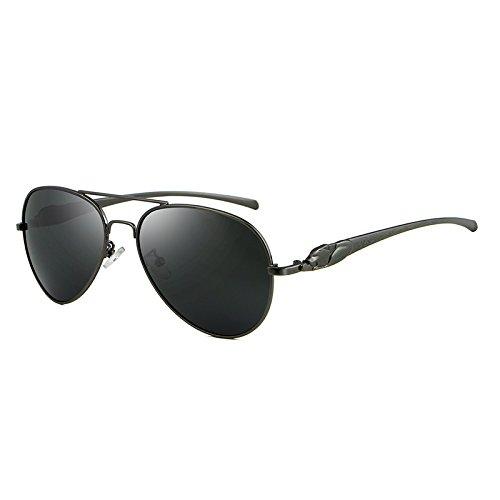 de Shishanyun Eyes Sol Polarized Envío Gratis Gun Sun Cat Hombre Glasses Golden Mujer UV400 Gafas Mens rvfrWqwzE