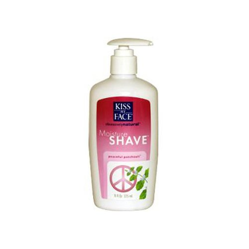 Kiss My Face 4in1 Moisture Shave, Peaceful Patchouli 11 fl o
