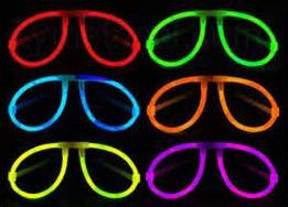 12 Piece Glow In the Dark Party Favor Set in 6 Assorted Colors - 8
