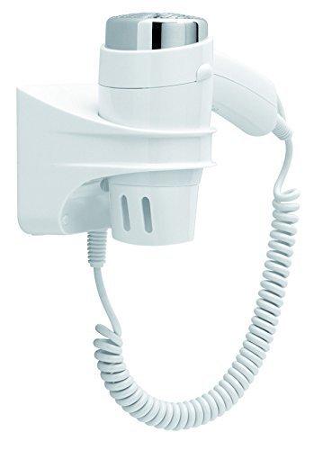 JVD - Secador Hotel - Modelo de base 1400 W - ref. Clipper blanco 822798: Amazon.es: Salud y cuidado personal