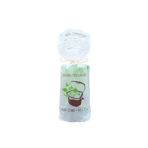 Zero Waste Compostable Bag - 3 Gallon, 25 Count, Extra Thick and - Francisco Anchorage San