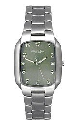 Kenneth Cole 3-Hand Arabic Green Dial Men's Watch #KC3301