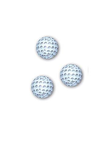 Golf Balls Premium Solid Milk Chocolate (1 Lb - 80 Pcs) Chocolate Foil Balls