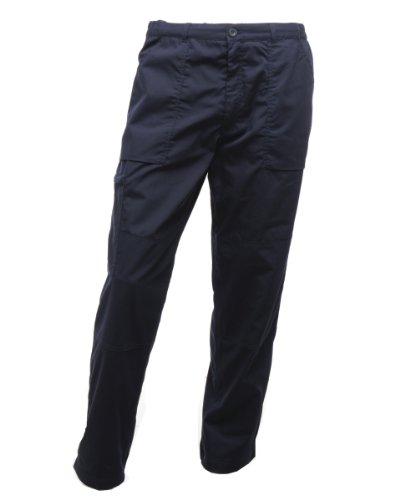 Doublé New Avec Regatta Basses Marine D'action régulier Poches Action Multiples Pantalon Bleu qwXdtX
