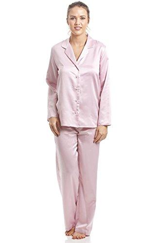 Conjunto de pijama - Satén - Rosa Rosa