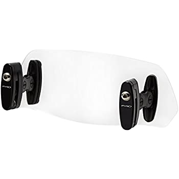 Puig 6375H Light Smoke 102x325mm Multi-Adjustable Clip-On Visor