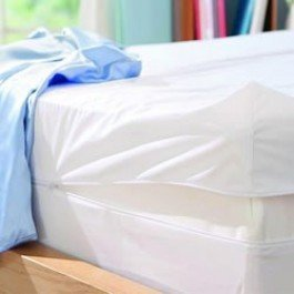 Zippered Double Laboratory Certified Tested Bed Bug Proof Mattress Cover  Protector Encasement|Anti Allergy Dust