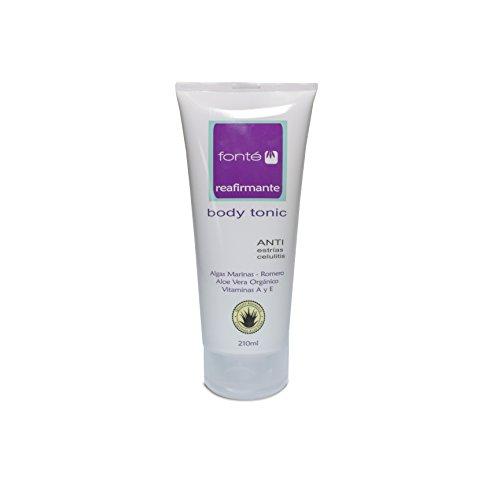 Fonte Lab - Crema Reafirmante Body Tonic, anti estrias celulitis, 210 ml