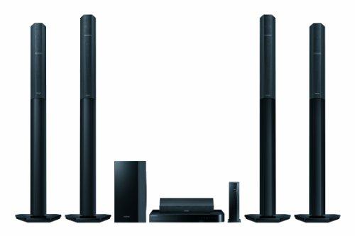 Samsung HT-H7750WM 7.1 Smart 3D Blu-ray Heimkinosystem (1330 Watt, kabellose Rücklautsprecher, Röhrenverstärker, Ultra HD Upscaling, Multiroom, Bluetooth, Wireless-LAN, Smart TV) schwarz