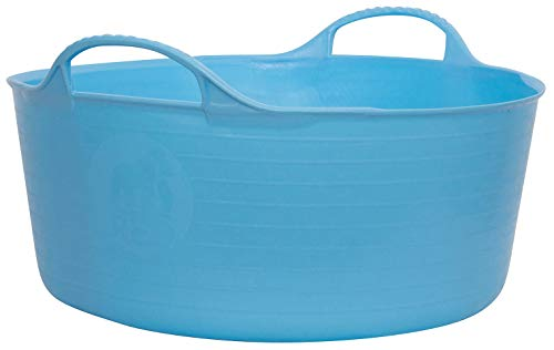 - Tubtrugs SP15SKBL Flexible Sky Blue Small Shallow 15 Liter/4 Gallon Capacity