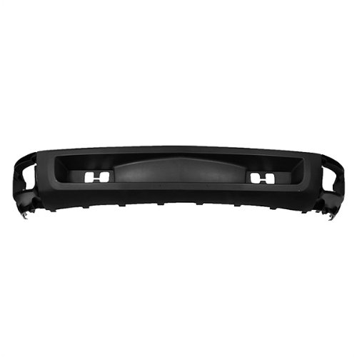 CarPartsDepot, Front Bumper Air Deflector Lower Center New Textured Tow Holes, 365-15105 GM1092192 15915504