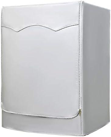AKEfit Copertura Lavatrice per Le lavatrici con Aperture Anteriori Impermeabile Argento Taglia Larga 60×64×85cm