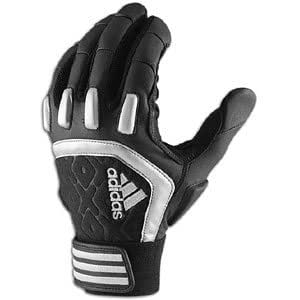 Adidas Scorch Destroy - Guante para fútbol americano (talla XXL), color negro