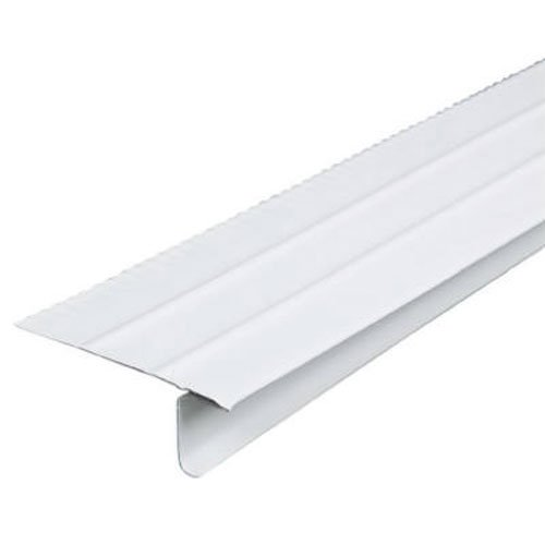 AMERIMAX HOME PRODUCTS 5505400120 F4-1/2 White Aluminum Drip Edge