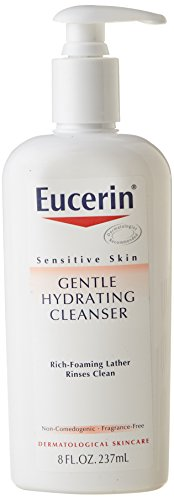 Eucerin Gentle Hydrating Cleanser for Face & Body - 8 oz