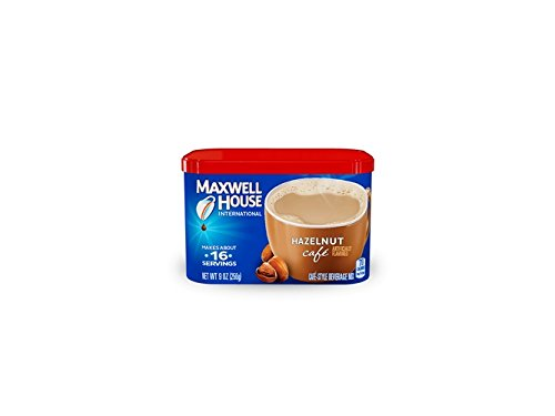 Maxwell House International Coffee, Hazelnut Cafe, 9 Ounce