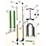 Emerald Fork Replacement Parts (, Emerald Stanchion Assembly Right)
