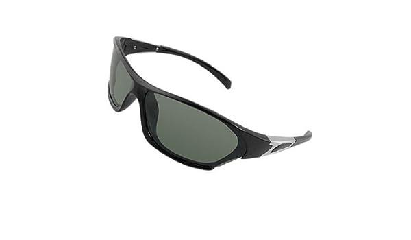 Amazon.com : Rect?ngulo lente verde Full Frame gafas de sol polarizadas para hombres : Beauty