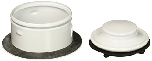White Flange Disposer - Waste King 3152 3150 Extended Sink flange White