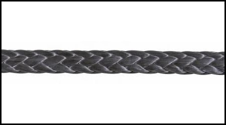 Samson Rope 1/4'' Amsteel-blue; Black; (25 - Samson Black