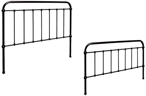 Coaster CO-300399Q Livingston Metal Bed, Queen, Dark Bronze Bronze Queen Size Footboard
