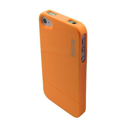 iHome IH-4P101J Neon Orange Case for iPhone 4