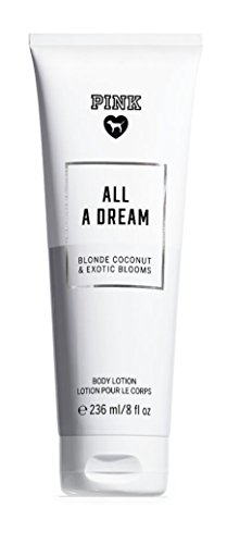 Victoria's Secret Pink 'All A Dream Fragrant Body Lotion 236ml/8 Fl Oz Blonde Coconut 7 Exotic - Lotion Body Dreams